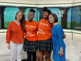 "JaMaya and Jasmine Bonner promote Join Hands on KSDK, ""Show Me St. Louis."" Way to shine ladies!"